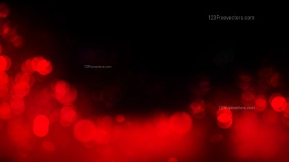 Abstract Cool Red Bokeh Lights Background