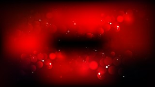 Cool Red Blurred Bokeh Background