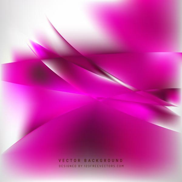 Pink White Background Design