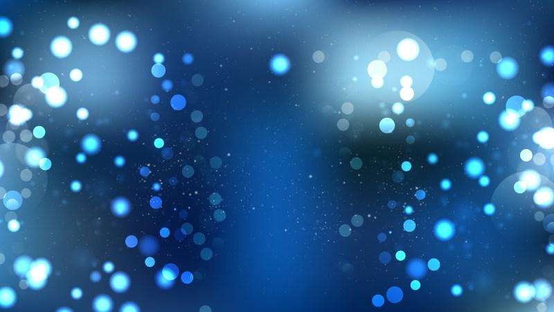 Dark Blue Defocused Background Image