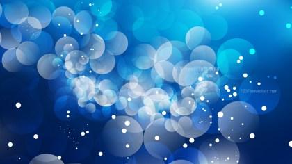 Dark Blue Blur Lights Background Design