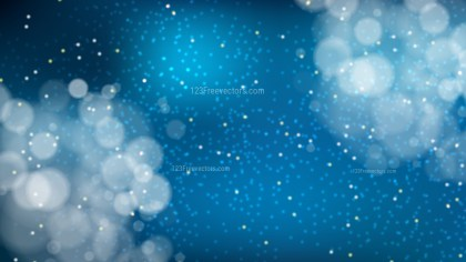 Abstract Dark Blue Defocused Background