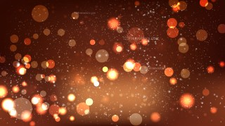 Dark Brown Blurred Bokeh Background Vector Image