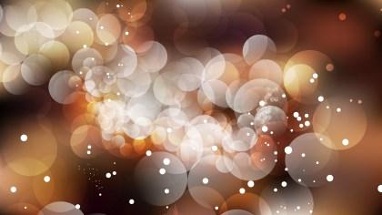 Dark Brown Blur Lights Background