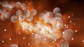 Dark Brown Bokeh Defocused Lights Background Vector Art