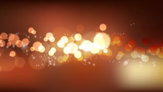Abstract Dark Brown Bokeh Background