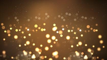 Abstract Dark Brown Bokeh Defocused Lights Background Image