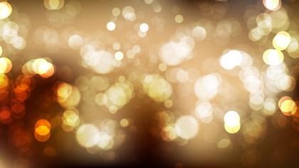 Dark Brown Blurry Lights Background Vector Art