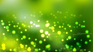 Dark Green Bokeh Background Vector