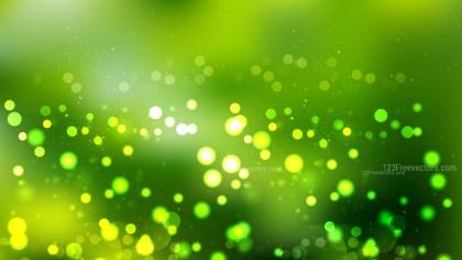 Dark Green Bokeh Background Vector