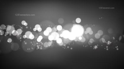 Dark Grey Blur Lights Background