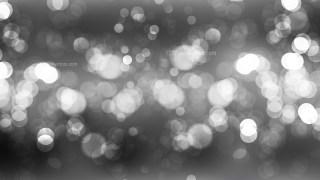 Dark Grey Bokeh Background