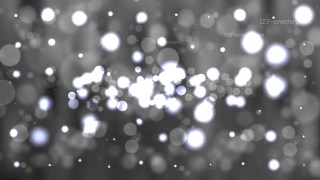 Dark Grey Bokeh Lights Background