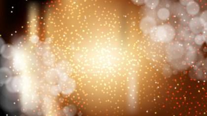 Dark Orange Blur Lights Background Vector
