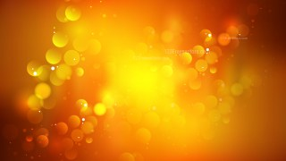 Abstract Dark Orange Blurry Lights Background Vector Image