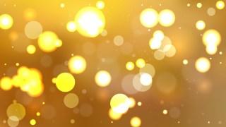 Dark Orange Blurred Bokeh Background Vector Illustration