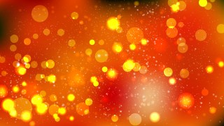 Dark Orange Blurred Lights Background Graphic