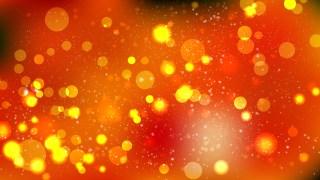 Dark Orange Blurred Lights Background Graphic