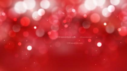 Dark Red Defocused Lights Background Vector