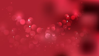 Abstract Dark Red Bokeh Background Vector Graphic