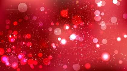 Dark Red Blurred Bokeh Background