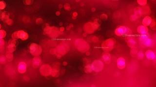 Dark Red Bokeh Defocused Lights Background
