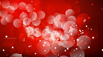 Abstract Dark Red Blurred Bokeh Background Illustration