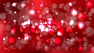 Dark Red Bokeh Background