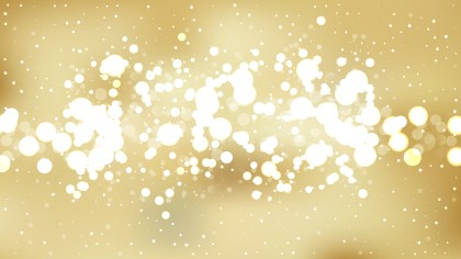 Gold Blurred Lights Background Graphic
