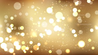 Gold Defocused Background