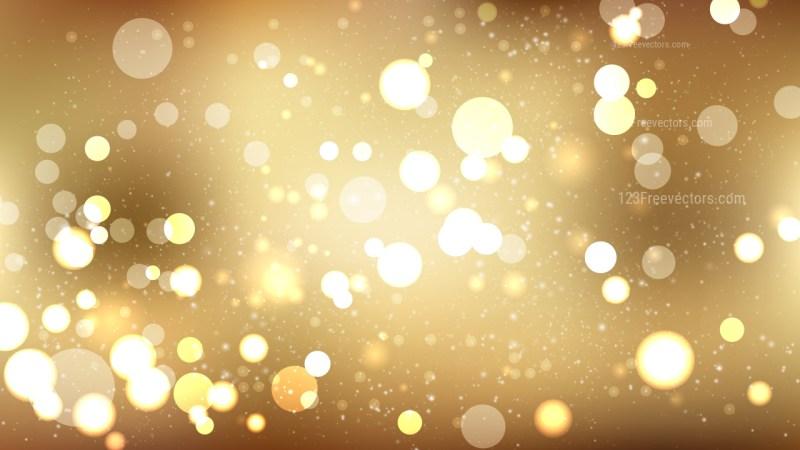 Gold Defocused Background