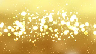 Gold Blurred Bokeh Background Image