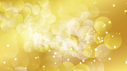 Abstract Gold Blurred Lights Background Vector Graphic