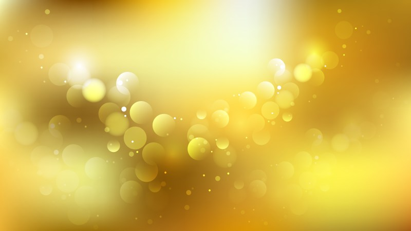Gold Illuminated Background