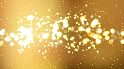 Gold Blurred Lights Background