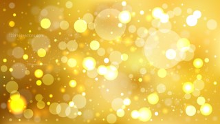 Abstract Gold Bokeh Defocused Lights Background