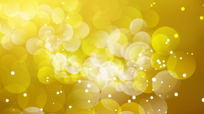 Abstract Gold Defocused Lights Background Vector Graphic