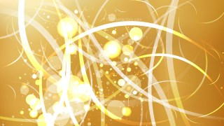 Abstract Gold Lights Background Vector Image