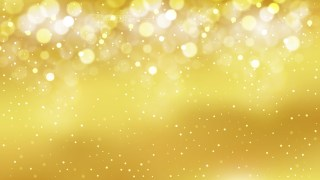 Gold Blurred Bokeh Background