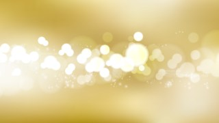 Gold Bokeh Background Graphic