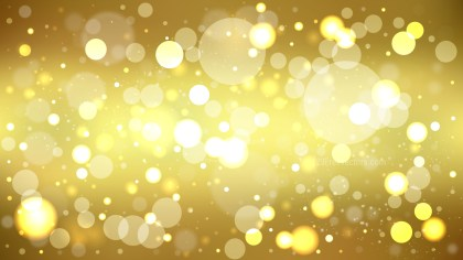 Abstract Gold Blur Lights Background
