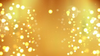 Abstract Gold Bokeh Lights Background Design