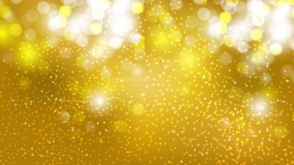 Gold Bokeh Lights Background Design