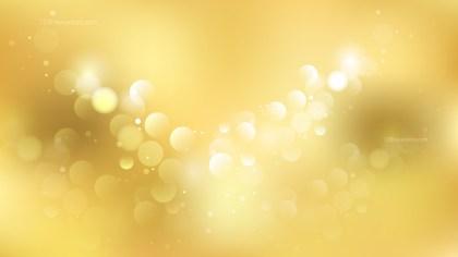 Gold Defocused Background Image