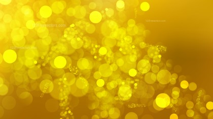 Abstract Gold Bokeh Background Graphic