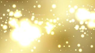 Abstract Gold Bokeh Defocused Lights Background Illustration
