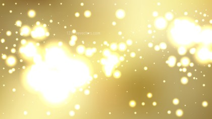 Abstract Gold Bokeh Defocused Lights Background Illustration