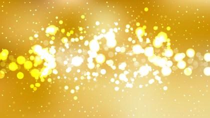 Gold Blurred Lights Background