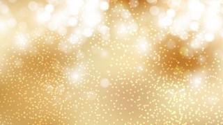 Gold Bokeh Defocused Lights Background
