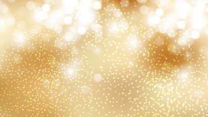 Gold Bokeh Defocused Lights Background